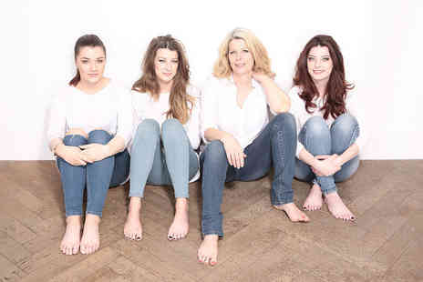 The Factory Covent Garden - Family photoshoot including full hair and makeup styling, bubbly and three prints - Save 98%