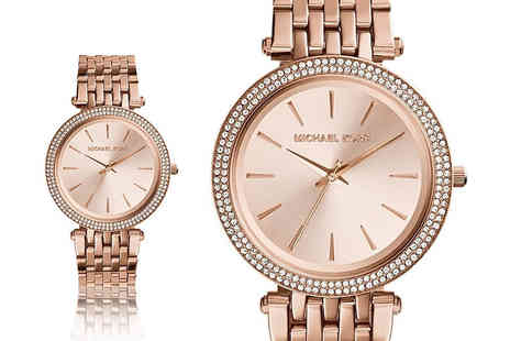 Gray Kingdom - Michael Kors womens Darci rose gold watch - Save 51%