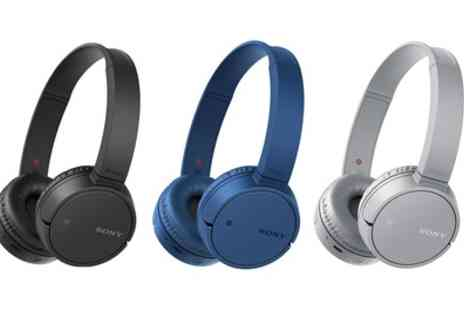 Groupon Goods Global GmbH - Sony MDR ZX220 Bluetooth Headphones With Free Delivery - Save 43%