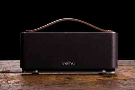Groupon Goods Global GmbH - Veho M6 Mode Retro Bluetooth Speaker with Microphone - Save 70%