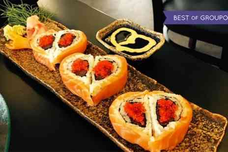 KOKO - Japanese Two Course Meal or Sushi for Two or Four - Save 49%