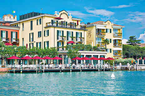 Hotel Sirmione e Promessi Sposi - Four Star Romantic Lake Side Hotel with Exclusive Spa Discounts - Save 65%