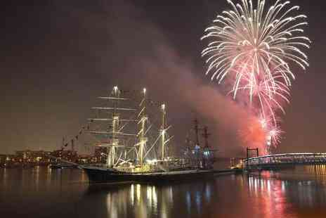 Talk Tourism - Three hour tall ships cruise and fireworks display on the River Thames - Save 34%