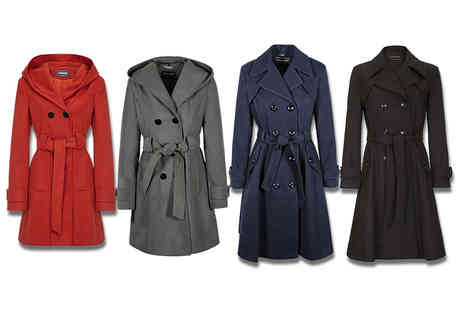 Anastasia Fashions - Womens smart coat choose from seven colours and styles - Save 49%