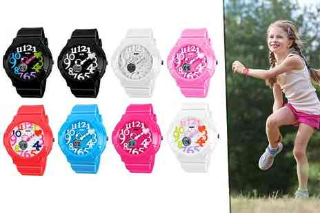Fakurma - Kids waterproof silicone watch - Save 0%