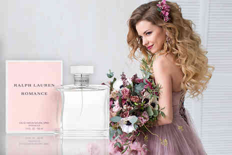 Deals Direct - 100ml bottle of Ralph Lauren Romance EDP - Save 13%