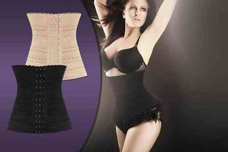 Who Runs the World - Pin up waist trainer choose from cream and black - Save 84%