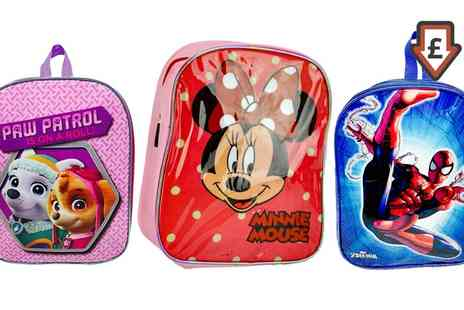Groupon Goods Global GmbH - Kids Character Junior Backpacks - Save 0%