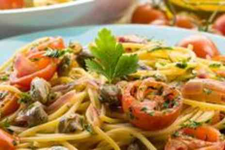 Bar Six 2 - Italian pasta lunch or dinner for two with wine - Save 62%