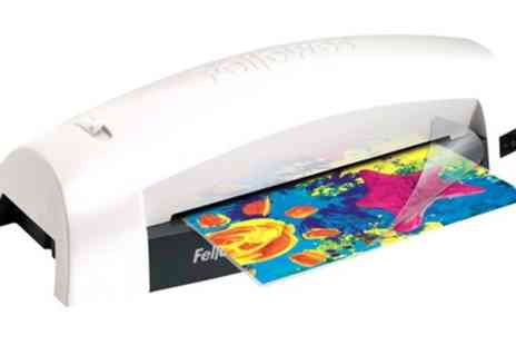Groupon Goods Global GmbH - Fellowes Lunar A4 Laminator - Save 40%