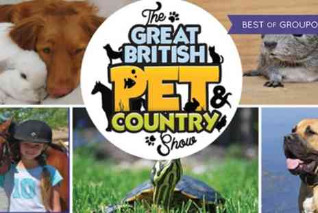 Aztec Events - Two or four tickets to Great British Pet Show on 28 To 29 May - Save 53%