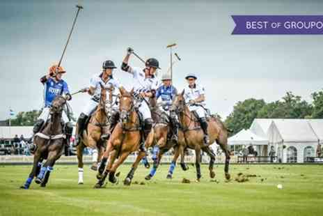 Cirencester Park Polo Club - Ticket to Warwickshire or County Cup on 25 June or 19 August - Save 57%