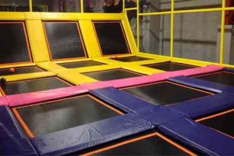 99 Jump Street - Two Hour Jumping Session for One or Two Toddlers and Adults with One or Two Hot Drinks - Save 17%