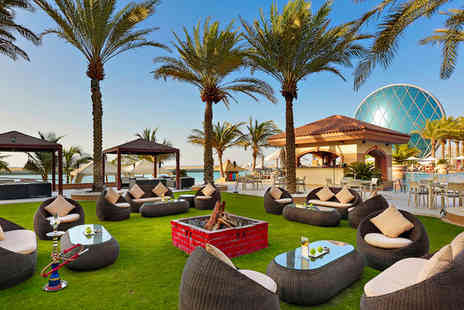Al Raha Beach Hotel - Five Star Extravagant Luxury in the Emirates - Save 80%