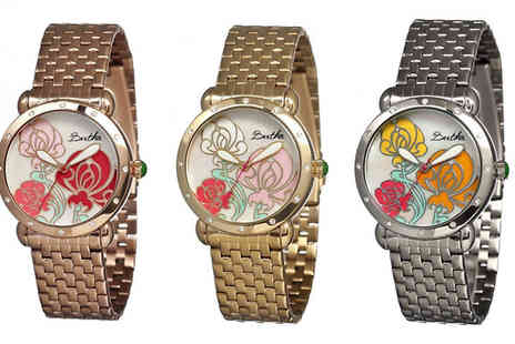 Ideal Deal - Bertha Josephine Mother of Pearl Watch in 3 Colours - Save 92%