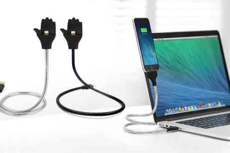 Groupon Goods Global GmbH - Charging Cable with Phone Holder - Save 67%