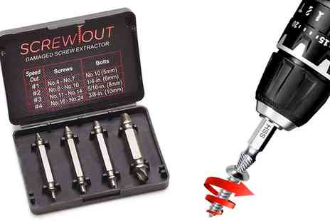 Groupon Goods Global GmbH - Damaged Screw Extractor Set - Save 72%
