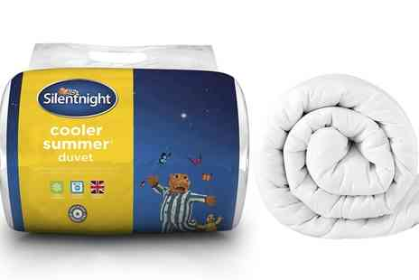 Groupon Goods Global GmbH - Silentnight Stay Cool 10.5 Tog Duvet in Choice of Size - Save 61%