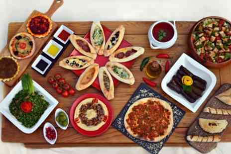 Kamoon - Cold Meze, Chargrilled Main and Soft Drink Each for Two or Four - Save 0%