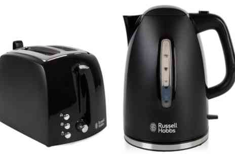Groupon Goods Global GmbH - Russell Hobbs Kettle and Toaster Bundle - Save 53%