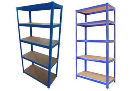 Groupon Goods Global GmbH - Heavy Duty Shelving Five Tier Storage Units - Save 68%