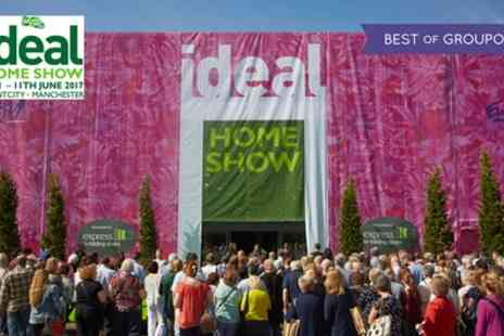 Ideal Home Show - Two general admission tickets On 8 To 11 June - Save 51%