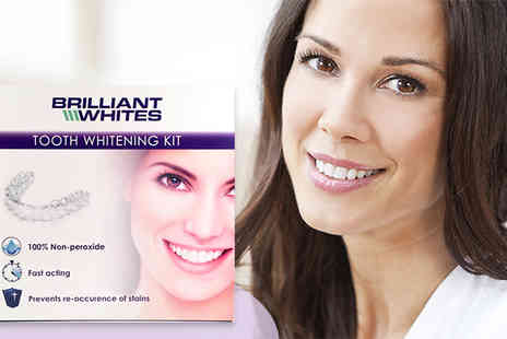Brilliant Whites - Fast Acting Tooth Whitening Kit - Save 43%