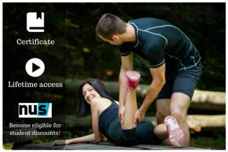 OfCourse - An online sports massage course - Save 78%