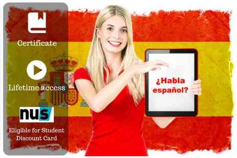 OfCourse - An online beginners spanish course - Save 91%