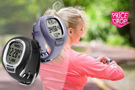 GPSK - Garmin fitness watch choose black or purple - Save 56%