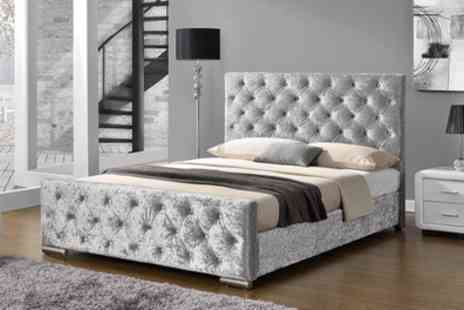 Groupon Goods Global GmbH - Buckingham Bed with Optional Mattress With Free Delivery - Save 37%