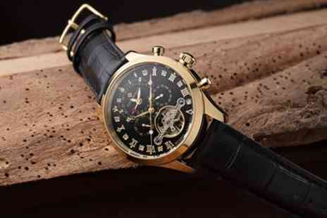Groupon Goods Global GmbH - Mens Theorema Damascus Automatic Watch With Free Delivery - Save 76%