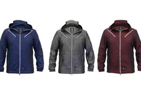 Groupon Goods Global GmbH - Crosshatch Crackets Mesh Lined Hooded Coats - Save 0%