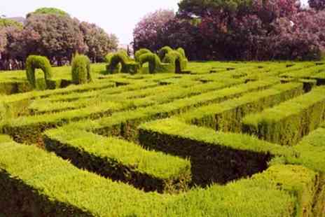 Hoo Hill Maze - Maze Entry for Two or a Family of Four - Save 25%