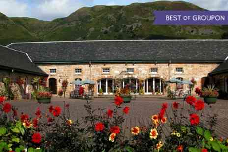 The Harviestoun Country Hotel - Two Course Lunch or Dinner for Two or Four - Save 42%