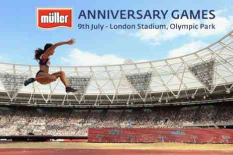 UK Athletics - One ticket to Müller Anniversary Games On 9 July - Save 33%