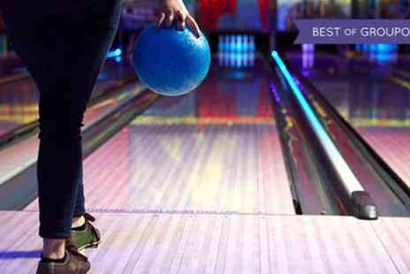 M&Ds - Bowling Game and Draught Soft Drink for Four or Six - Save 48%
