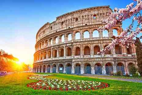 Bargain Late Holidays - Two or Three night 4 Star Rome break including flights, breakfast and tour - Save 69%