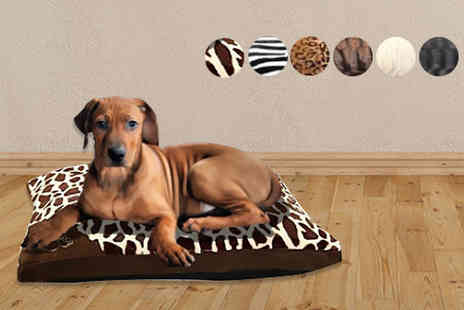 Groundlevel.co.uk - Super soft thick fur pet bed - Save 75%