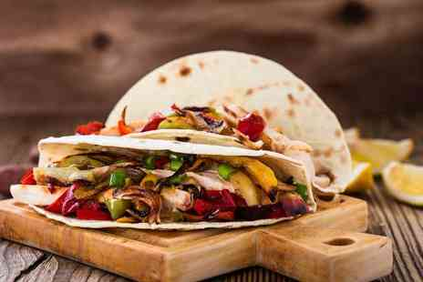 Mexicali - Unlimited fajitas and a cocktail each for two - Save 67%