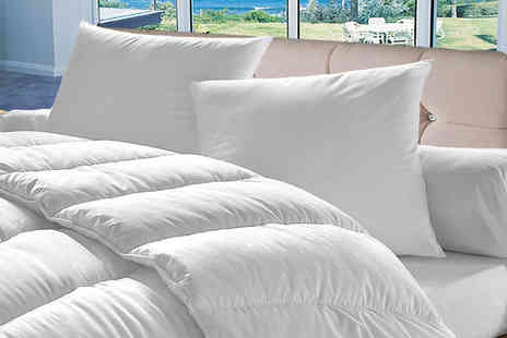 Home Furnishings Company - Single, double, king or super king size duvet - Save 72%