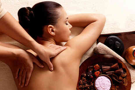 Suprina Salon & Spa - 45 minute back massage, 30 minute Dermalogica facial and express manicure and pedicure - Save 69%
