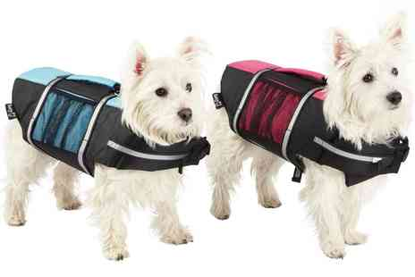 Groupon Goods Global GmbH - Bunty Dog Swimming Life Jacket Buoyancy Aid - Save 23%