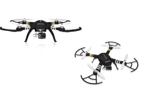 Groupon Goods Global GmbH - Veho VQD 002 Q1 Q Series Q 1 Quadcopter Drone With Free Delivery - Save 33%