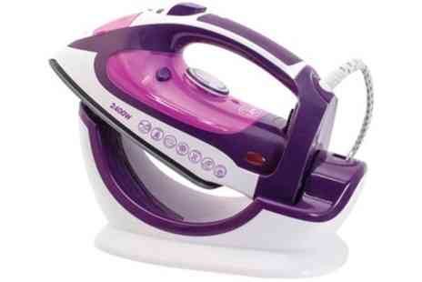Groupon Goods Global GmbH - Quest Cordless Steam Iron 2400W - Save 40%