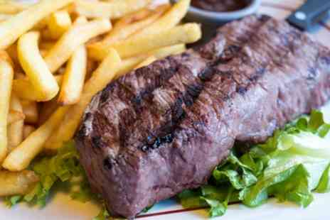 Steakz by Ibrahims - Steak with a Choice of Side and Soft Drink for Two or Four - Save 45%