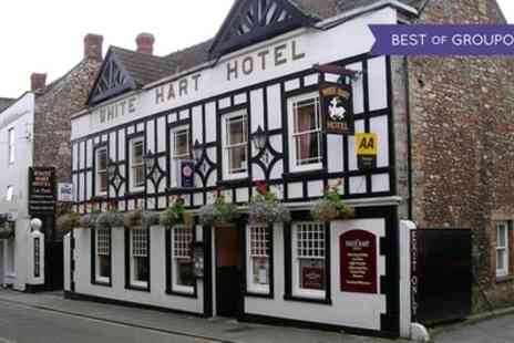 White Hart Hotel - Afternoon Tea for Two or Four with Optional Sparkling Wine - Save 0%