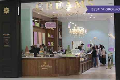Creams British Luxury - Afternoon Tea for Two or Four - Save 42%