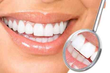 Dental Care London - Zoom Teeth Whitening with Optional Polish or Advanced Teeth Whitening Package - Save 77%