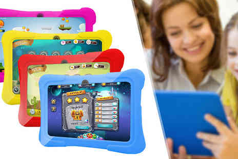 tecwizz - 7 Inch Kids HD Tablet with Jumbo Case Four Colours - Save 81%